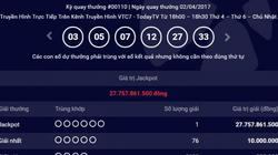 Kết quả Vietlott ngày 2.4: Thêm một người trúng giải Jackpot 27 tỷ