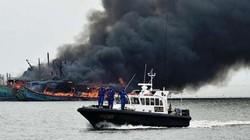 Indonesia lại đánh chìm tàu cá Việt Nam