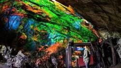 Kỳ ảo bảo tàng đá phát sáng dưới lòng đất