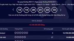 Kết quả Vietlott ngày 5.4: Giải Jackpot 15 tỷ chưa tìm thấy chủ nhân