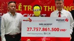 Tình tiết bất ngờ trong lễ trao giải xổ số Vietlott gần 28 tỉ đồng