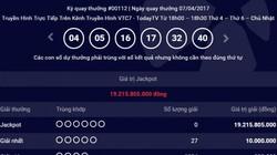 Kết quả Vietlott ngày 7.4: Giải Jackpot 19 tỷ chưa tìm thấy chủ nhân