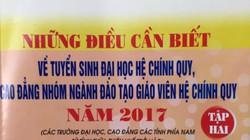 NXB Giáo dục Việt Nam thừa nhận in cẩm nang tuyển sinh sai mã ngành