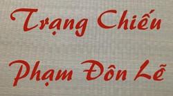 Chuyện tam nguyên mang kỹ thuật dệt chiếu từ Trung Quốc về nước Việt