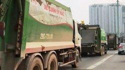 Chạy vào đường xe buýt nhanh, tài xế xe chở rác bị tước bằng lái