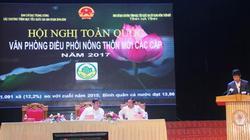 Khai mạc Hội nghị toàn quốc văn phòng điều phối NTM các cấp năm 2017