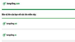 Các nhà đăng ký chính thức phân phối tên miền tiếng Việt