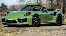 Porsche 911 Turbo S 'Edo Competition' đẹp rực rỡ