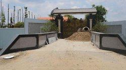 Biệt thự xây trái phép của TGĐ ở Sóc Trăng đóng kín cửa