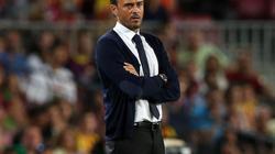 HLV Enrique nói gì khi Barcelona bị loại?