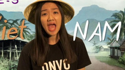 Clip cô gái dạy đếm số tiếng Việt hài hước hút 2 triệu lượt xem