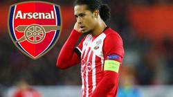 """Arsenal phá kỷ lục chuyển nhượng mua """"trung vệ thép"""""""