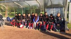 Tuyển thủ U20 Việt Nam gãy xương quai xanh ở Đức