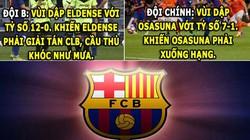 """HẬU TRƯỜNG (27.4): M.U được trọng tài """"phù hộ"""", Barca quá độc ác"""