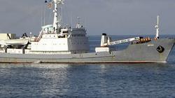 Tàu gián điệp Nga đâm tàu chở hàng, chìm giữa Biển Đen