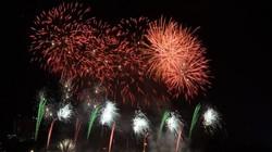 Sông Hàn Đà Nẵng rực sáng lung linh đêm khai mạc Lễ hội pháo hoa