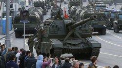 Xe tăng, tên lửa, 10.000 binh sĩ Nga sắp duyệt binh khoe sức mạnh quân sự