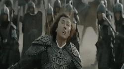 Chân Tử Đan khiến ngàn binh lính khiếp sợ với món võ cao cường