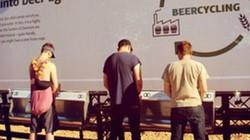 Đi xin 50.000 lít nước tiểu đưa vào dây chuyền làm bia