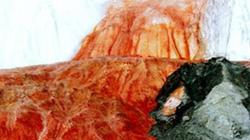 Nguồn gốc của thác máu mang bí ẩn trăm năm ở Nam Cực
