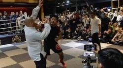 Võ sư Thái Cực bị võ sĩ MMA hạ 10 giây là nhân viên massage
