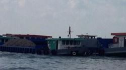 Xử phạt 14 sà lan vận chuyển gần 5.000 m3 cát lậu trên sông Hậu