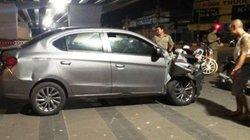 Sợ bị đánh sau tai nạn, tài xế lái ô tô tháo chạy như trong phim