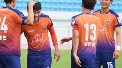 Gangwon cho Xuân Trường đá chính trận quan trọng