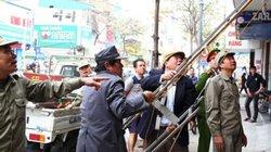 Sẽ kỷ luật cán bộ phường nếu để vỉa hè ở Hà Nội bị tái chiếm