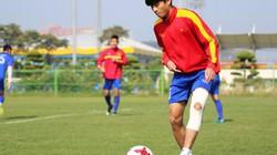 Thanh Hậu gây kinh ngạc trong buổi tập của U20 Việt Nam