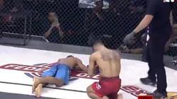 """Võ sĩ MMA dùng """"vô ảnh cước"""" Hoàng Phi Hồng, đối thủ bất tỉnh"""