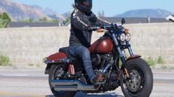 Harley-Davidson Fat Bob 2017 dành cho lối sống thư thái