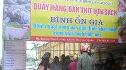 Hà Tĩnh: Chính quyền huyện lập cửa hàng bán thịt lợn giúp dân