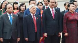 Đoàn ĐBQH khoá XIV viếng Lăng Bác trước khi khai mạc kỳ họp thứ 3