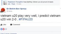 Cả Đông Nam Á đứng sau lưng U20 Việt Nam