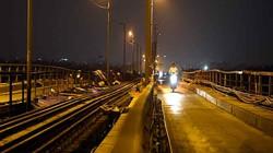 Clip: Cầu Long Biên nhộn nhịp về đêm trong đợt đại tu sửa