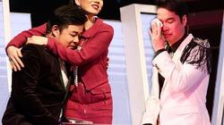 Ngọc Sơn, Quang Lê bật khóc nức nở trên sóng truyền hình