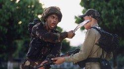 Siêu chiến binh một mình một dao hạ gục 40 tên cướp
