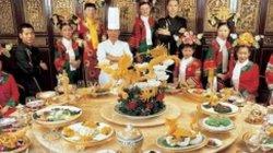 """Bữa tiệc """"vàng ròng"""" xa hoa của Từ Hy Thái hậu"""