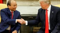Thủ tướng Nguyễn Xuân Phúc hội đàm với Tổng thống Donald Trump