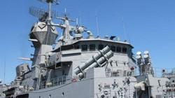 Tàu trang bị tên lửa của Australia cập cảng Tiên Sa
