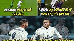 """HẬU TRƯỜNG (6.6): Ronaldo và Ramos """"siêu ăn vạ"""", Hazard bị """"đánh lén"""""""