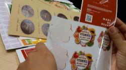 Tem trái cây nhập khẩu: Hầu hết là tự in tự dán