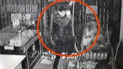 """Clip: """"Người nhện"""" đu dây, đột vòm vào cửa hàng trộm cắp"""