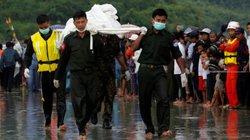 Myanmar đưa 29 thi thể nạn nhân máy bay rơi về đất liền