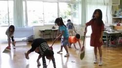 Lý do trường học Nhật Bản không cần lao công