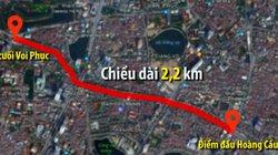 Hà Nội định chi gần 7.800 tỷ đồng cho hơn 2km đường