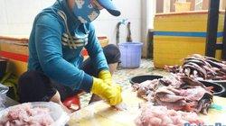 """Làng chả cá Định Tân với nghề dùng muỗng để cạo thịt cá """"đỏ lửa"""""""