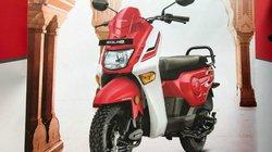 Cận cảnh xe ga rẻ Honda Cliq giá 15 triệu đồng
