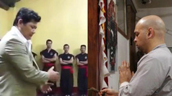 Đấu chưởng môn Nam Huỳnh Đạo, võ sư Vịnh Xuân chấp đôi chân